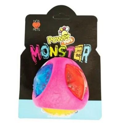 Brinquedo Bola Maluca com Led 7cm