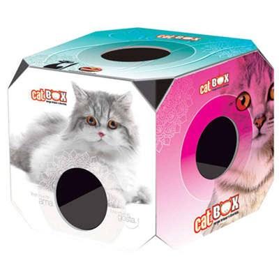 Brinquedo Cat Box Furacão Pet para Gatos Adultos