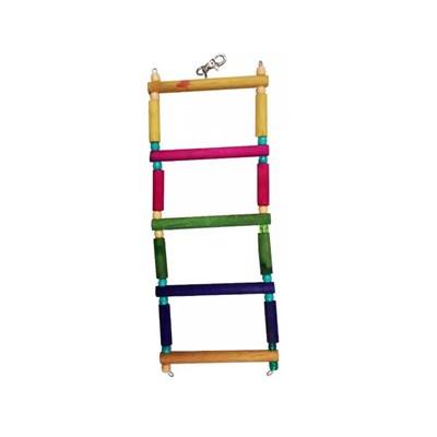 Brinquedo Kakatoo Escada Degraus para Pássaros 29cm