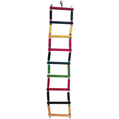 Brinquedo Kakatoo Escada Degraus para Pássaros 58cm