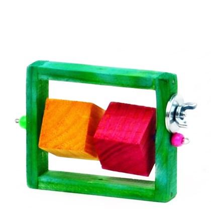 Brinquedo Kakatoo Rola Cubo para Roedores P