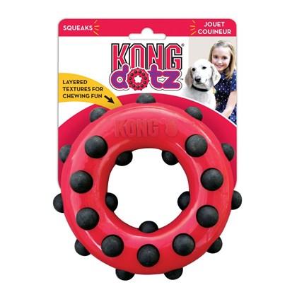 Brinquedo Kong Dotz Circle para Cães G