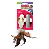 Brinquedo Kong Feather Mouse para Gatos