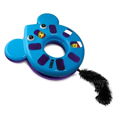 Brinquedo Kong Puzzle Toy Mouse para Gatos