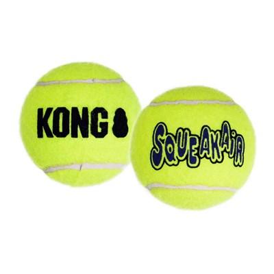 Brinquedo Kong Squeakair Teniis Ball Bulk para Cães M