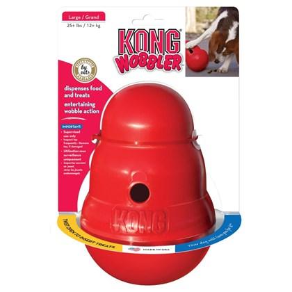 Brinquedo Kong Woobler para Cães P