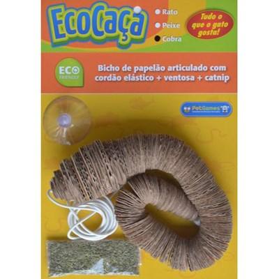 Brinquedo Pet Games Eco Caça Cobra para Gatos