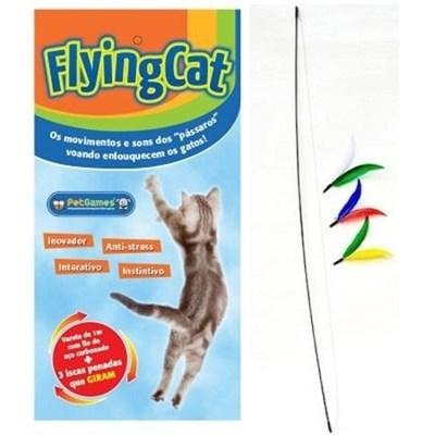 Brinquedo Pet Games Flyng Cat