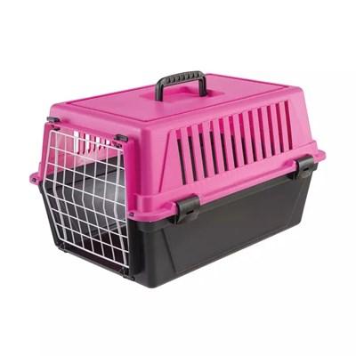 Caixa de Transporte Atlas para Cães e Gatos Ferplast 10EL Rosa