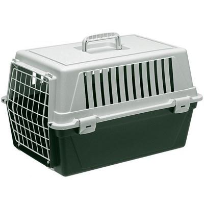 Caixa de Transporte Atlas para Cães e Gatos Verde Ferplast
