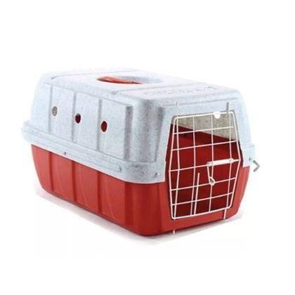 Caixa de Transporte Clicknew Tradicional Vermelho N02