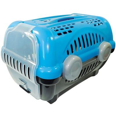 Caixa de Transporte Furacão Pet Luxo Azul N03