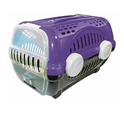 Caixa de Transporte Furacão Pet Luxo Lilás