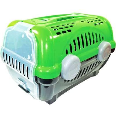Caixa de Transporte Furacão Pet Luxo Verde N03