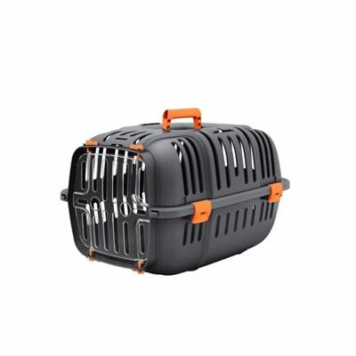 Caixa de Transporte Jet para Cães e Gatos Laranja