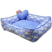 Cama Ariel para Cães e Gatos Azul M