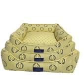 Cama Coroa Amarela para Cães e Gatos Fabrica Pet P