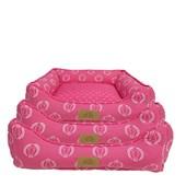 Cama Coroa Pink para Cães e Gatos Fabrica Pet P