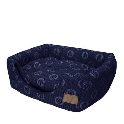 Cama Túnel Azul para Cães e Gatos Fabrica Pet M