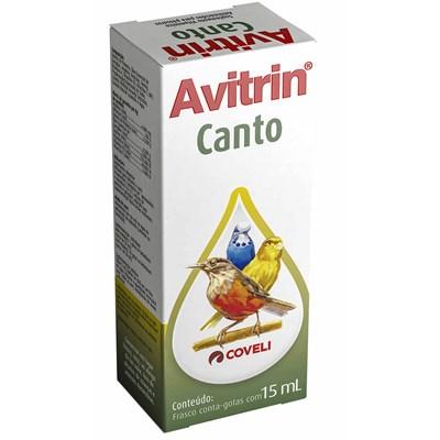 Canto Avitrin para Pássaros 15ml
