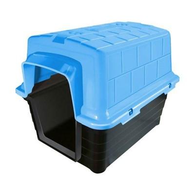Casa Plástica Azul Furacão Pet N04