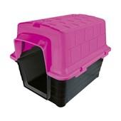 Casa Plástica Rosa Furacão Pet N05