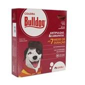 Coleira Antipulgas e Carrapatos Bulldog para Cães 25gr