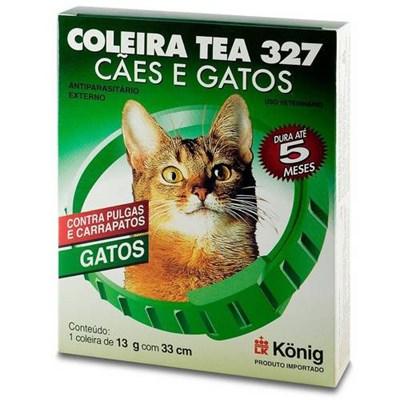 Coleira Antipulgas Tea para Gatos 13gr