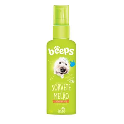 Colônia Beeps Body Splash Sorvete de Melão para Cães e Gatos 120ml