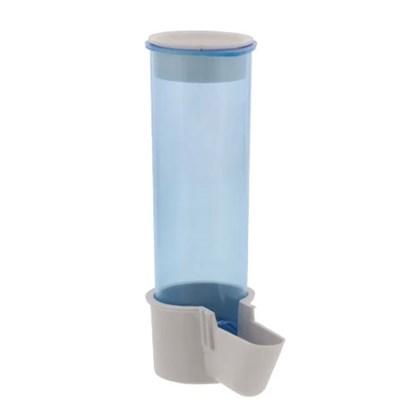 Comedouro Malha Fina Azul para Pássaros 120ml