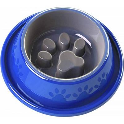 Comedouro Pet Injet Coma Melhor Facility M Azul