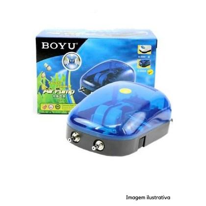 Compressor De Ar Boyu S 2000a  para Aquário 220v