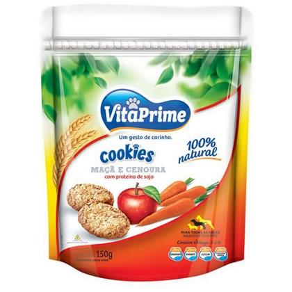 Cookie Vita Prime para Cães Mãça e Cenoura 150gr