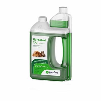Desinfetante Bactericida Herbalvet T.A 1L Ourofino