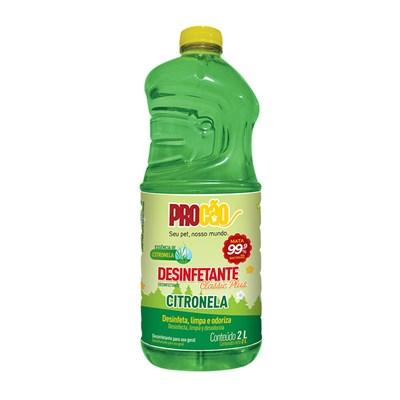 Desinfetante Procão Classic Plus Citronela 2l