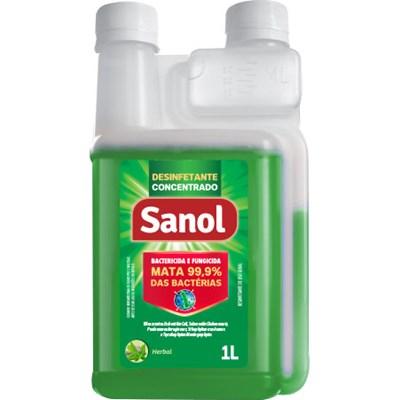 Desinfetante Sanol Concentrado 1L