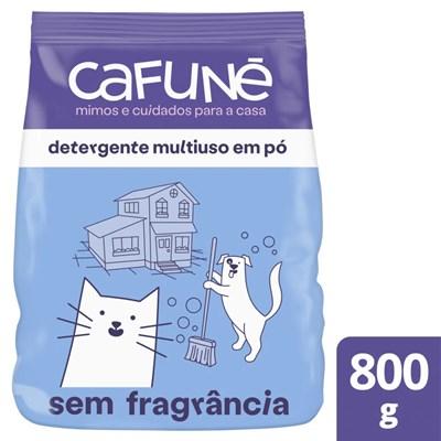 Detergente Multiuso em Pó Cafuné sem Fragrância 800g