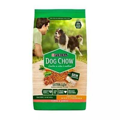 Dog Chow Adulto Raças Pequenas Carne E Arroz