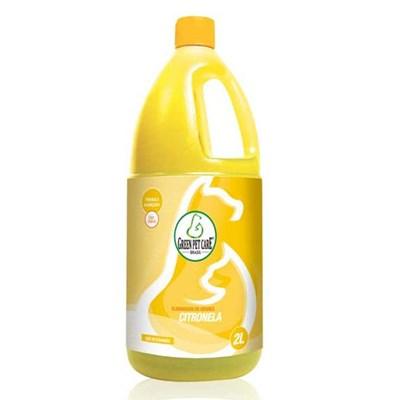 Eliminador de Odores Green Pet Citronela 2L