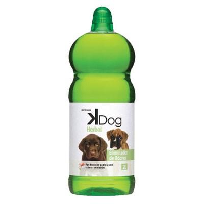 Eliminador de Odores Kdog  Herbal 2L