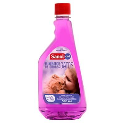 Eliminador de Odores Lavanda Gatos 500ml