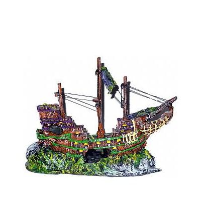 Enfeite Lester para Aquário Barco Viking