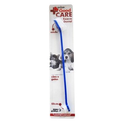 Escova Dental Good Care para Cães e Gatos 1 Unidade