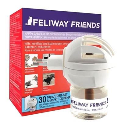 Feliway Friends Difusor com Refil 48mL - Ceva