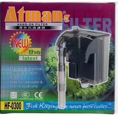 Filtro Externo Atman Hf 300 Para Aquários 300 Litros h 110v