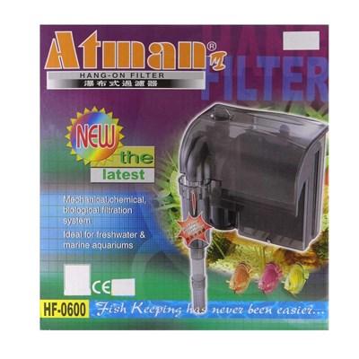 Filtro Externo Atman Hf 600 Para Aquários 650 Litros h  220v