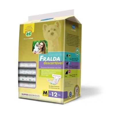 Fralda Descartável American Pets para Cães M