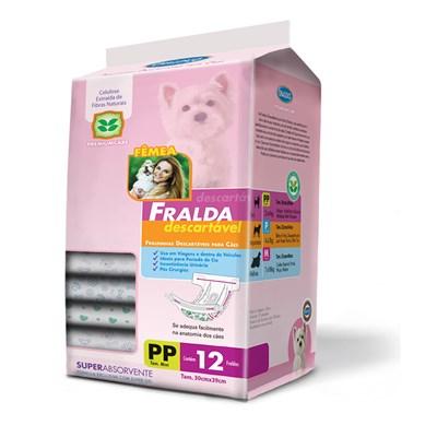 Fralda Descartável American Pets para Cães PP
