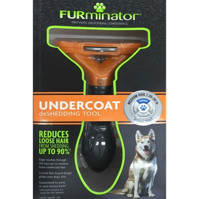 Furminator para Cães de Pelos Curtos Médio