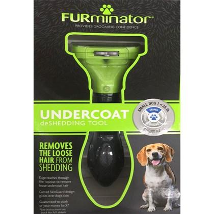 Furminator para Cães de Pelos Curtos Pequeno